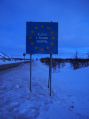 Finland border